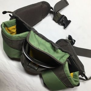 Mountainsmith Buzz green/grey insulated trail pack